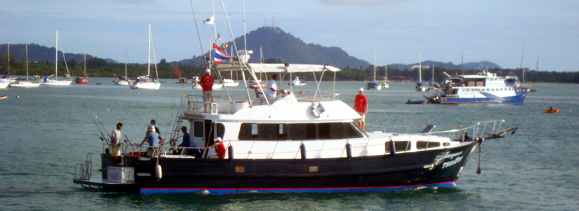 <p>Thai 2 On is a 56 ft luxury motor yacht furnished & equipped to the highest standard. A multi-day charter vessel with 3 double bedrooms, she is the ideal boat for visiting the Similan Islands. </p>